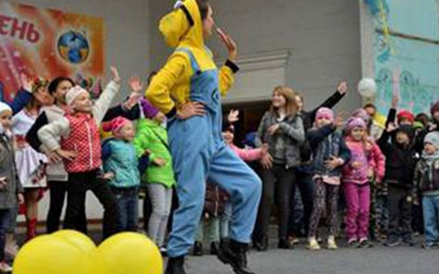 In Zaporozhye held a festive event for children -